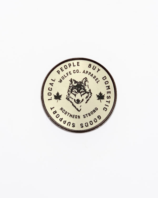 Local Patch - Patch - Wolfe Co. Apparel and Goods