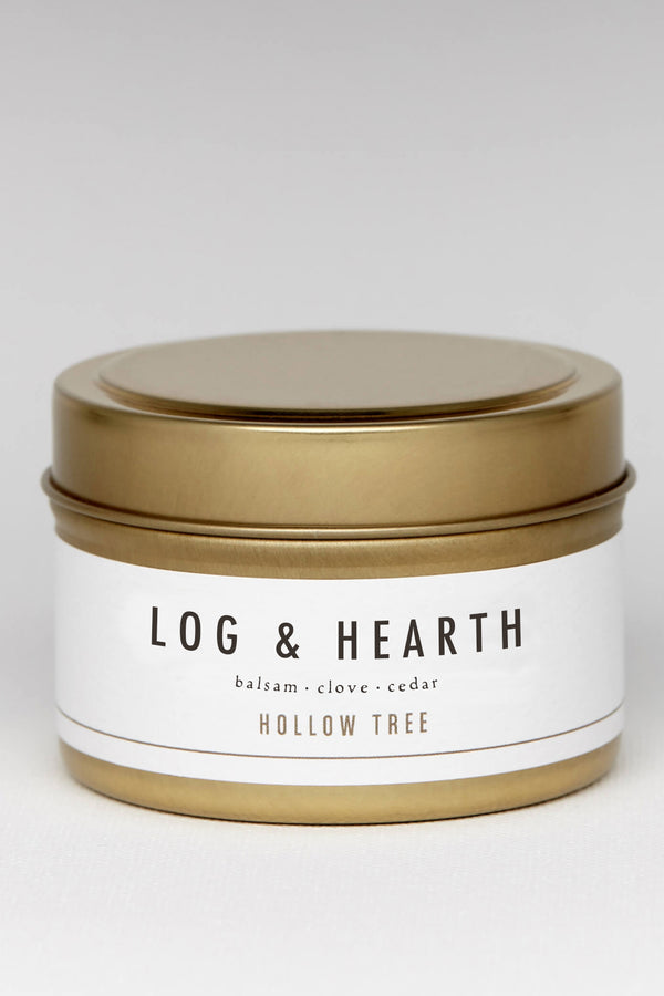 Log and Hearth 4oz Travel Size Candle