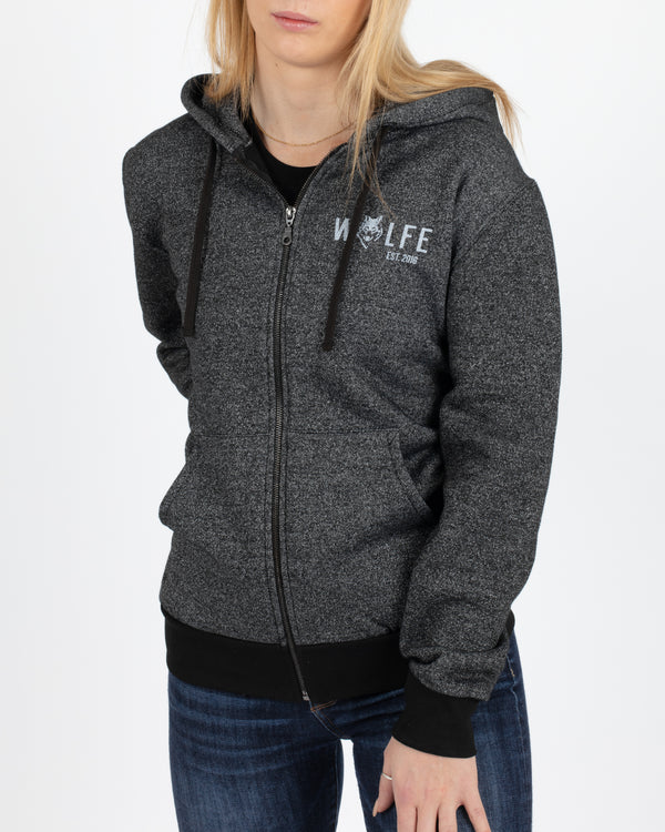 MacKenzie Full Zip Hoodie - Tops - Wolfe Co. Apparel and Goods