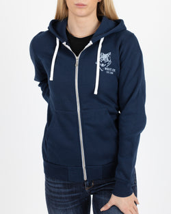 Rise Full Zip Hoodie - Tops - Wolfe Co. Apparel and Goods