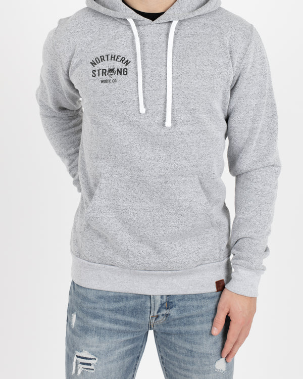 Northern Strong Vintage Pullover - Tops - Wolfe Co. Apparel and Goods