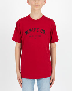 Wolfe Cubs Reilly Red - Tops - Wolfe Co. Apparel and Goods