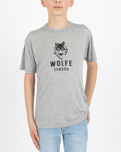 Wolfe Cubs Grey T-Shirt - Tops - Wolfe Co. Apparel and Goods