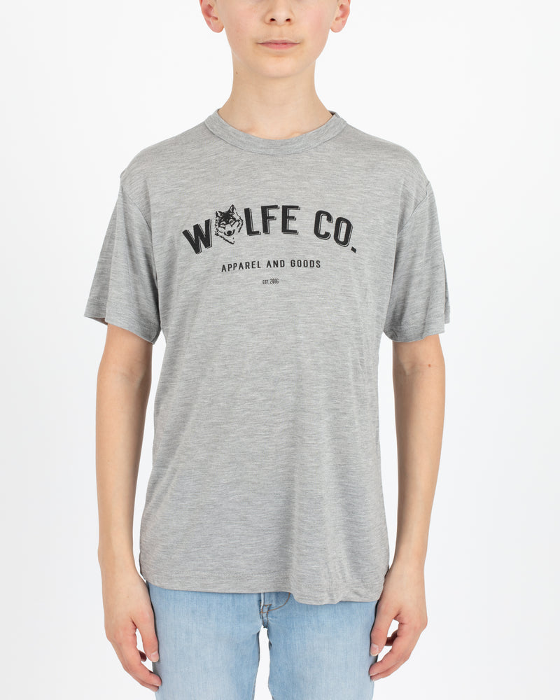 Wolfe Cubs Reilly Grey - Tops - Wolfe Co. Apparel and Goods