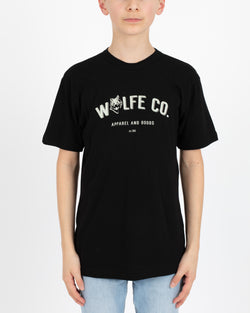 Wolfe Cubs Reilly Black - Tops - Wolfe Co. Apparel and Goods