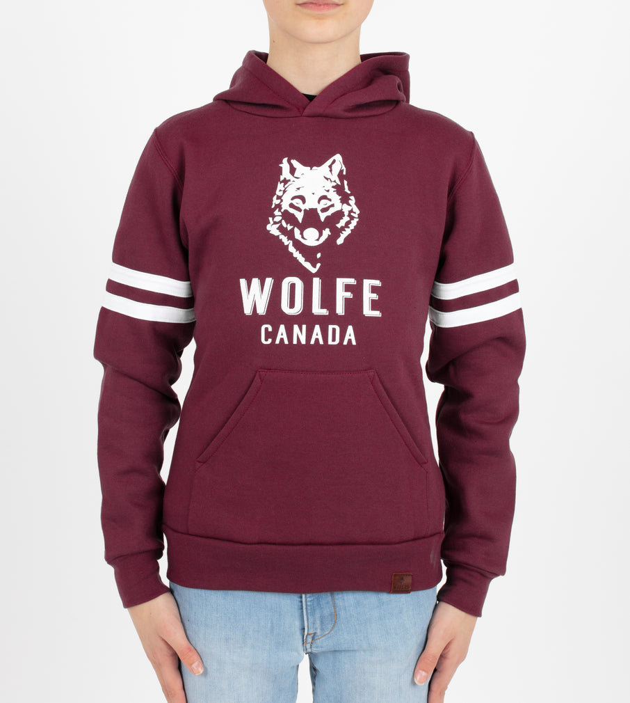 Youth Varsity Hoodie - Tops - Wolfe Co. Apparel and Goods