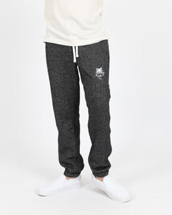 Wolfe Cubs Marled Black Sweatpants - Bottoms - Wolfe Co. Apparel and Goods
