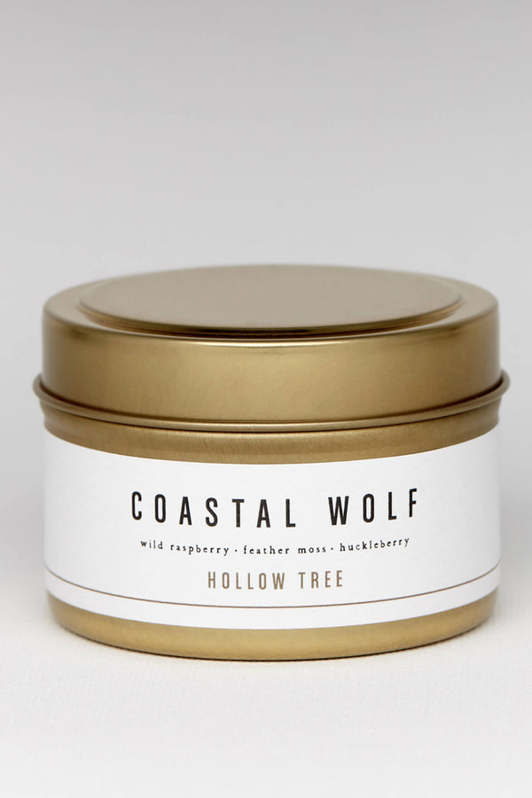 Coastal Wolf 4oz Travel Size Candle