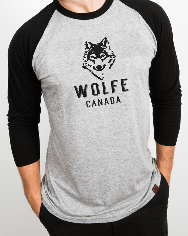 Wolfe Canada Baseball Tee - General - Wolfe Co. Apparel and Goods