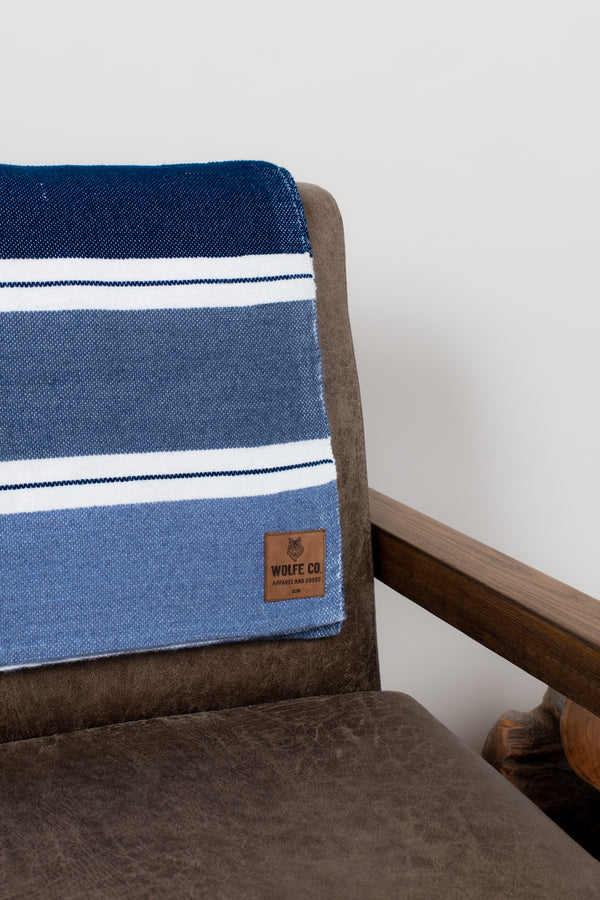 Denim Drummond Blanket - Wolfe Co. Apparel and Goods®