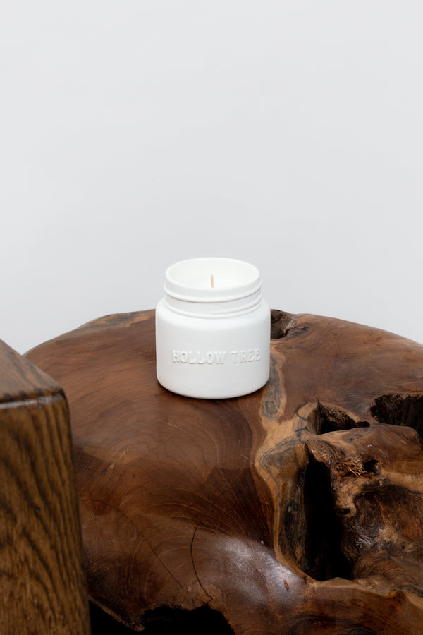 Log and Hearth Candle