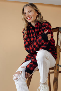Unisex Cotton Plaid Flannel Made in Canada