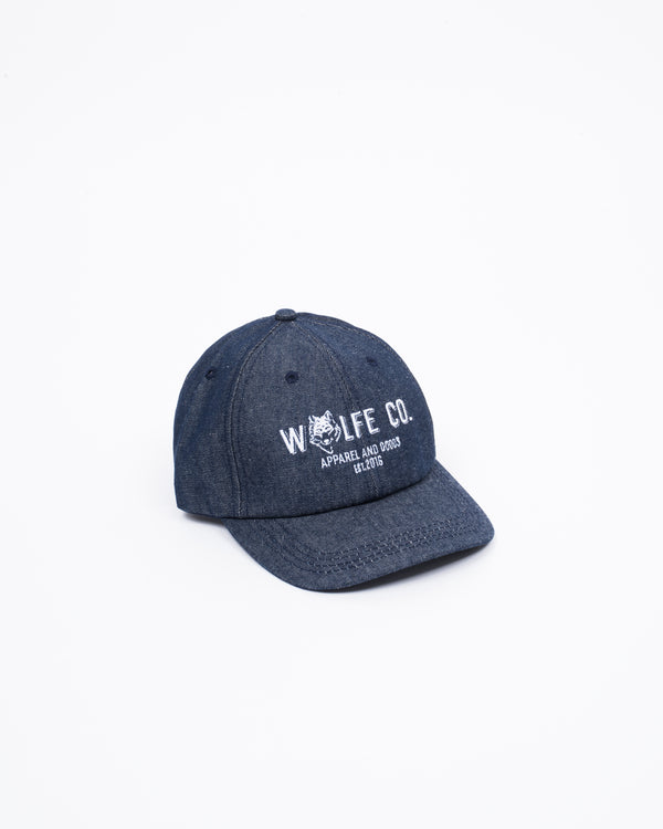 Wolfe Co. Denim Ballcap - Hats - Wolfe Co. Apparel and Goods