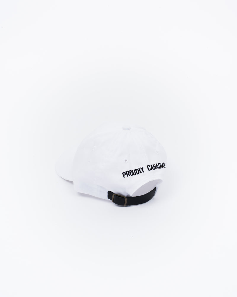 White Ballcap - Hats - Wolfe Co. Apparel and Goods