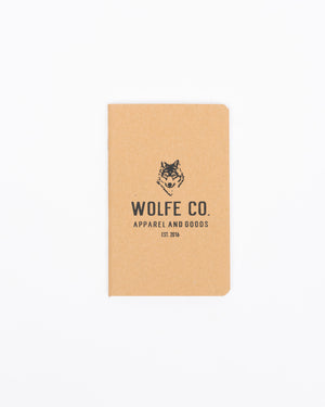 Adventure Notebook - Wolfe Co. Apparel and Goods