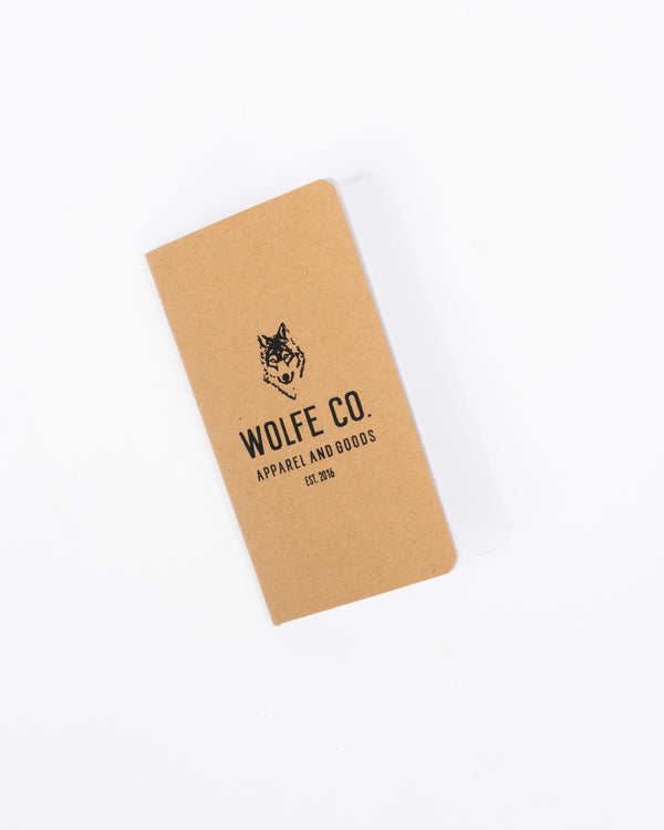 Adventure Notebook - Notebook - Wolfe Co. Apparel and Goods