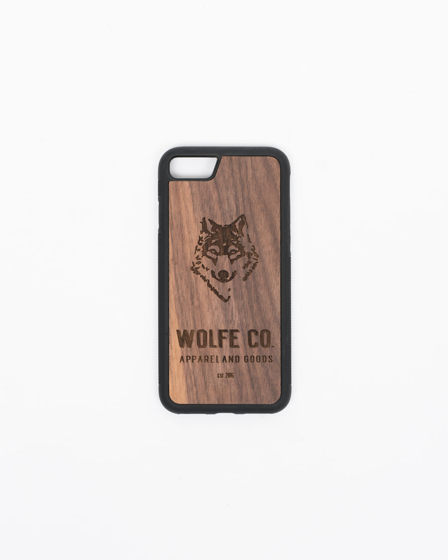 Wooden iPhone Case - Wolfe Co. Apparel and Goods
