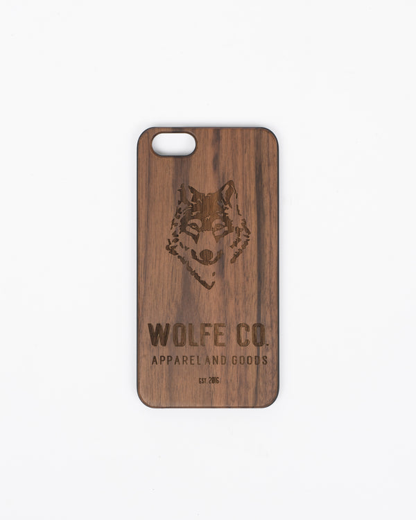 Wooden iPhone Case - iPhone Case - Wolfe Co. Apparel and Goods