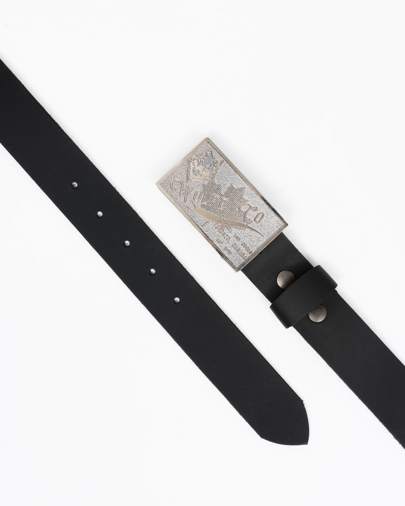Unisex Leather Belt - General - Wolfe Co. Apparel and Goods