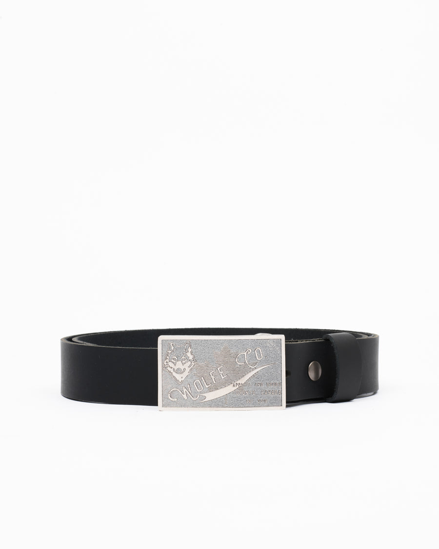 Unisex Leather Belt - Wolfe Co. Apparel and Goods