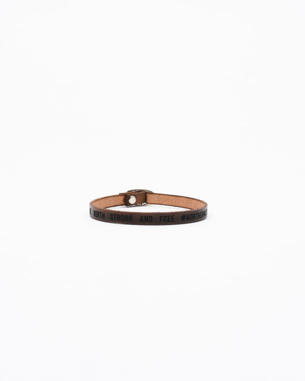 Porter Leather Bracelet Single-Strap - Bracelet - Wolfe Co. Apparel and Goods