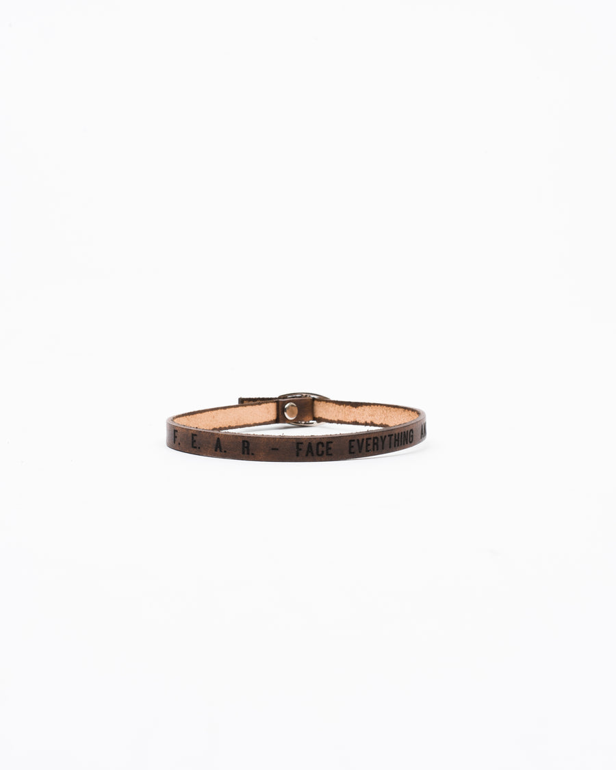 Porter Leather Bracelet Single-Strap - Wolfe Co. Apparel and Goods