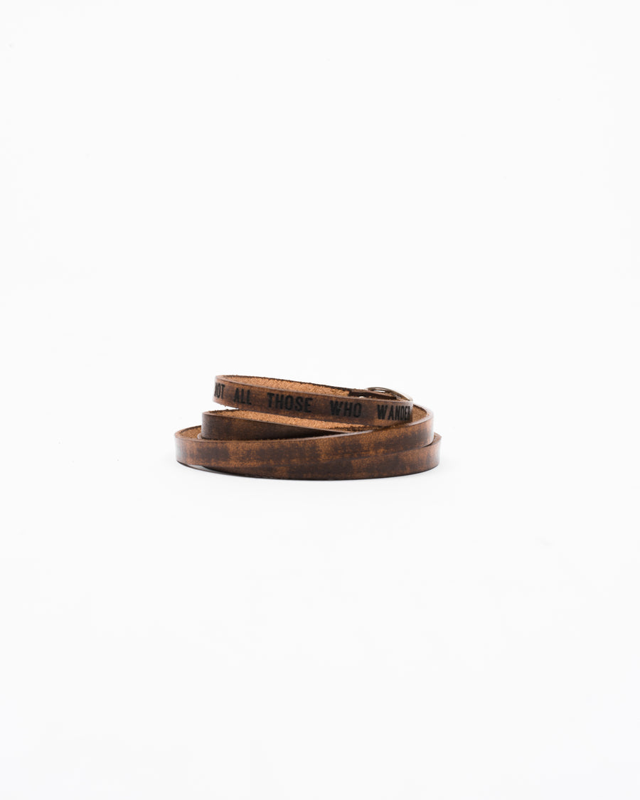 Porter Leather Bracelet Multi-Strap - Wolfe Co. Apparel and Goods