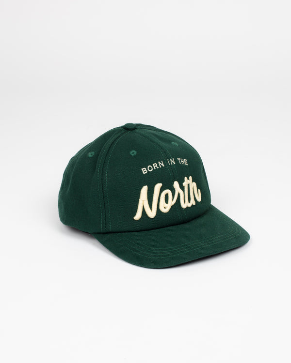 Born in the North Forest Snap Back - Hats - Wolfe Co. Apparel and Goods