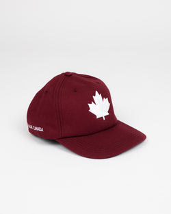 Maple Leaf Snap Back - Hats - Wolfe Co. Apparel and Goods