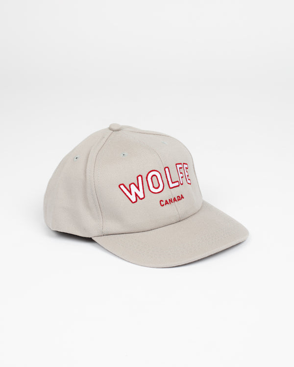 Varsity Snap Back Grey - Hats - Wolfe Co. Apparel and Goods