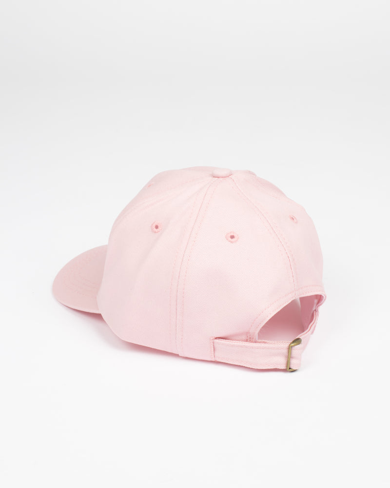 Canada Flag Pink Strap Back - Hats - Wolfe Co. Apparel and Goods