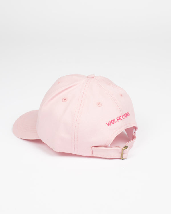Sorry, Eh? Pink Strap Back - Hats - Wolfe Co. Apparel and Goods