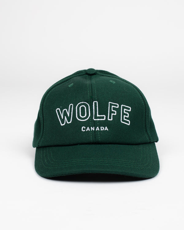 Varsity Snap Back Forest - Hats - Wolfe Co. Apparel and Goods
