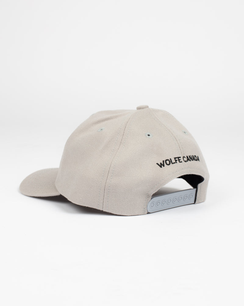 The Apologetic Hat Grey - Hats - Wolfe Co. Apparel and Goods