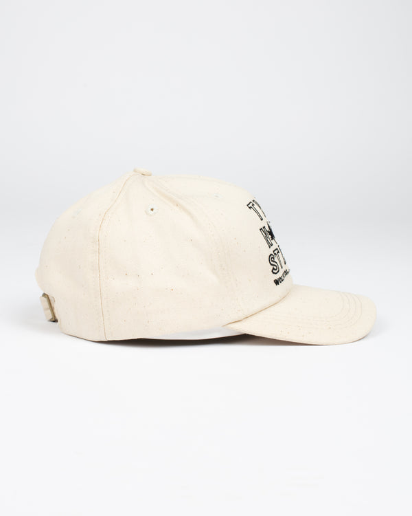 True North Strong Strap Back Natural - Hats - Wolfe Co. Apparel and Goods