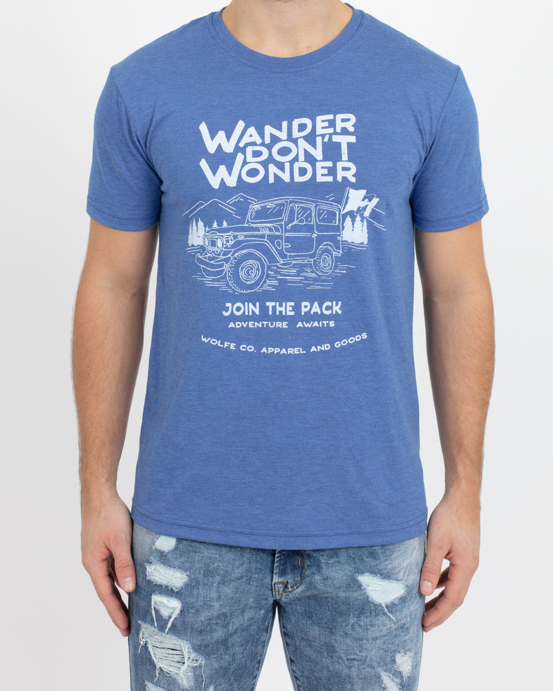 Wander Graphic Tee - Tops - Wolfe Co. Apparel and Goods