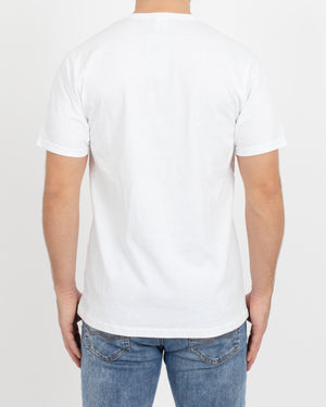 White Short Sleeve Henley - Tops - Wolfe Co. Apparel and Goods