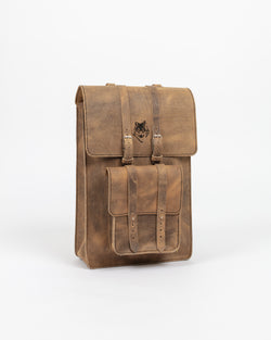 Weathered Beige Day Pack - Backpack - Wolfe Co. Apparel and Goods