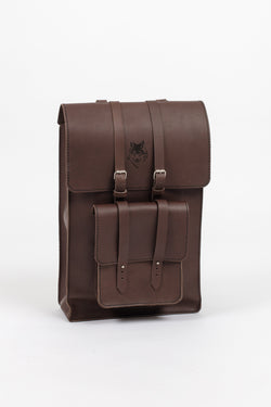 Chocolate Leather Day Pack