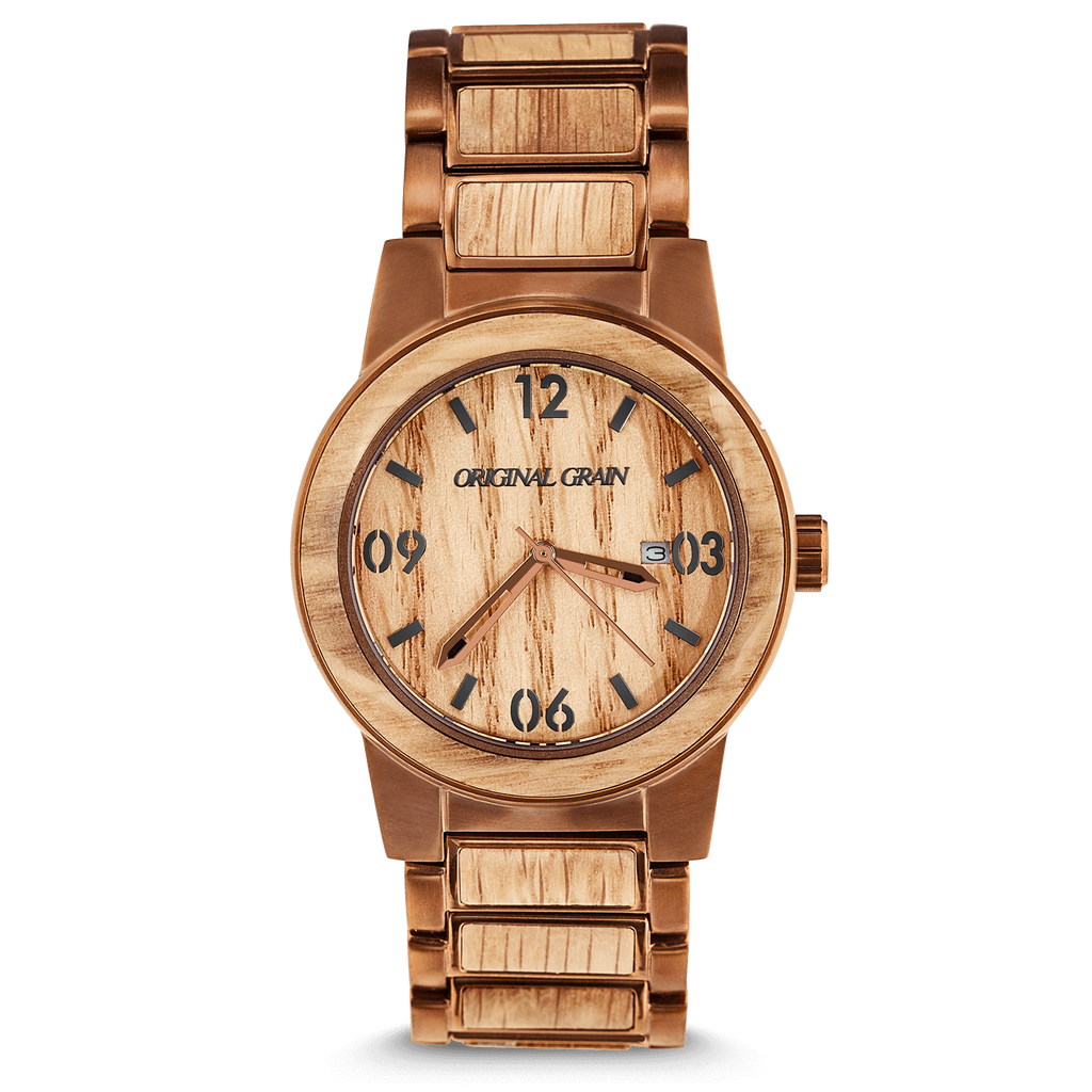 Whiskey Barrel 42mm by Original Grain