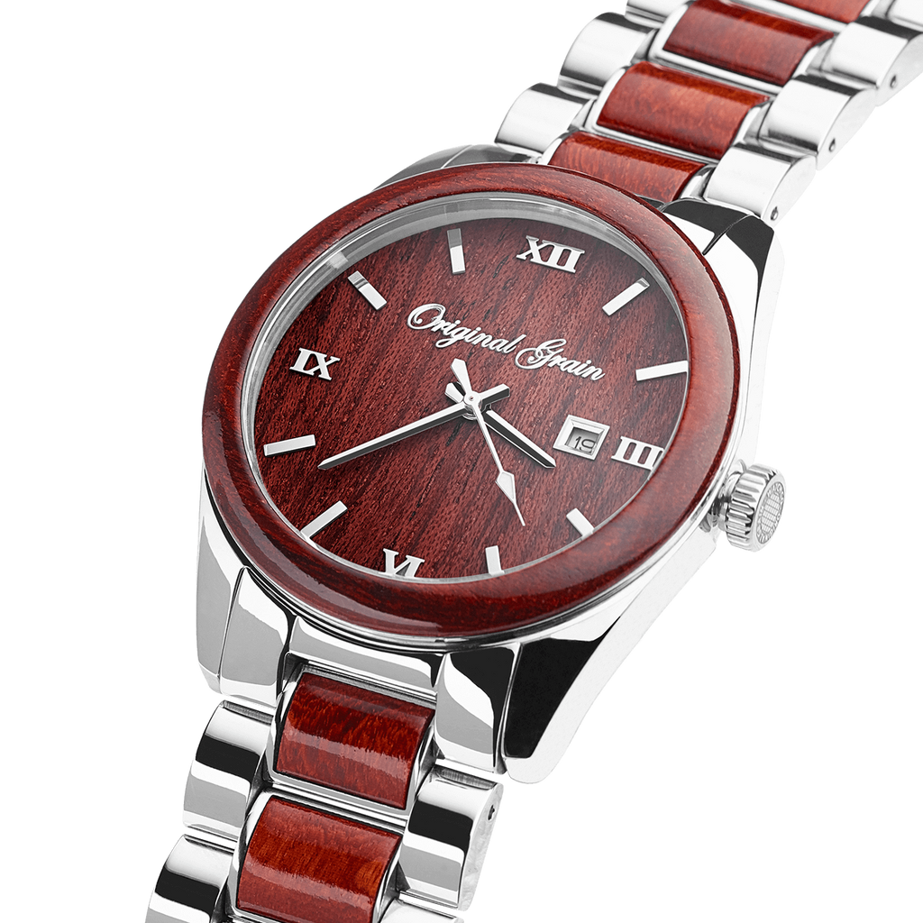 The Rosewood Classic 43mm by Original Grain