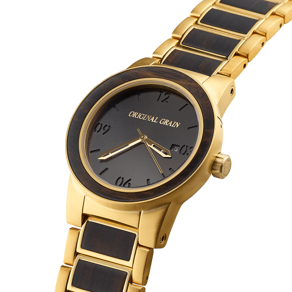 Ebony Gold Barrel 42mm by Original Grain