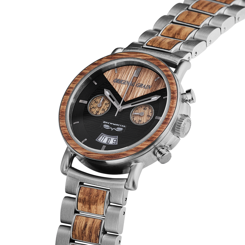 Brewmaster Chrono 44mm by Original Grain