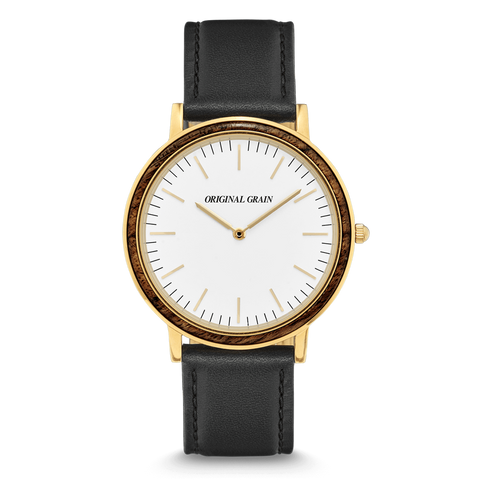 Ebony Gold Minimalist 40mm