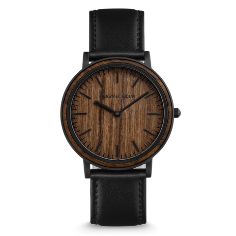 Matte Black / Ebony Wood / Wood Dial