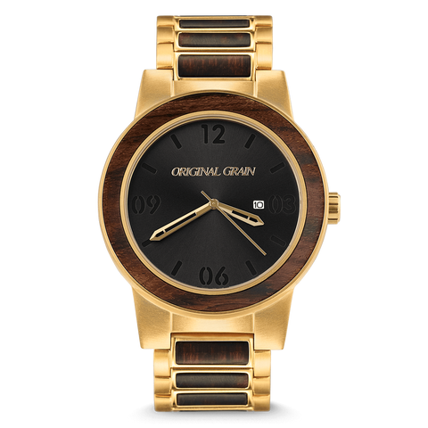 Ebony Gold Barrel 47mm by Original Grain