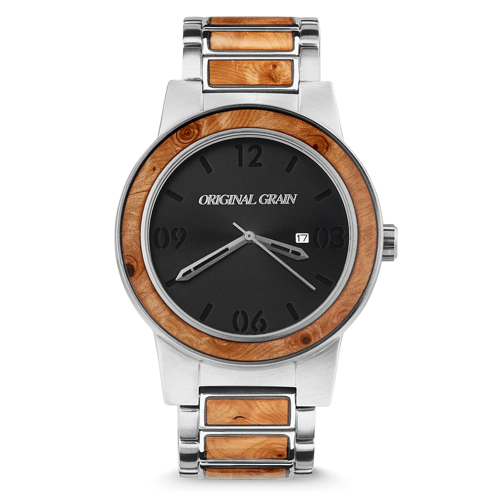 Burlwood Silver Barrel 47mm by Original Grain