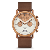 Chrono Whiskey / Espresso Leather
