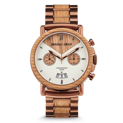 Whiskey Chrono 44mm by Original Grain