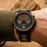 Chrono Verawood / Black Steel